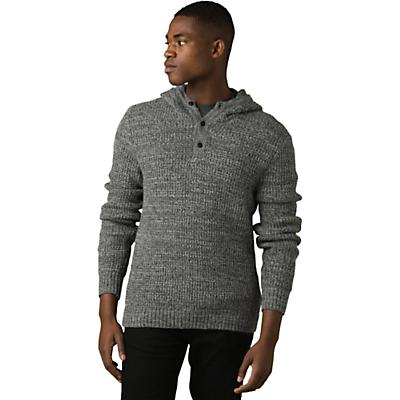 Prana Carter Hood Sweater - Charcoal - Men