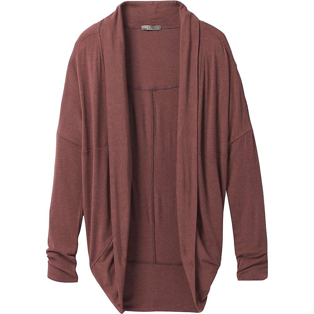 Cheap Prana Womens Foundation Munra Wrap - Medium - Flannel Heather
