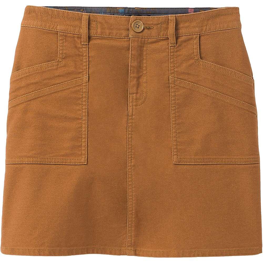 Cheap Prana Womens Nikit Skirt - 0 - Walnut