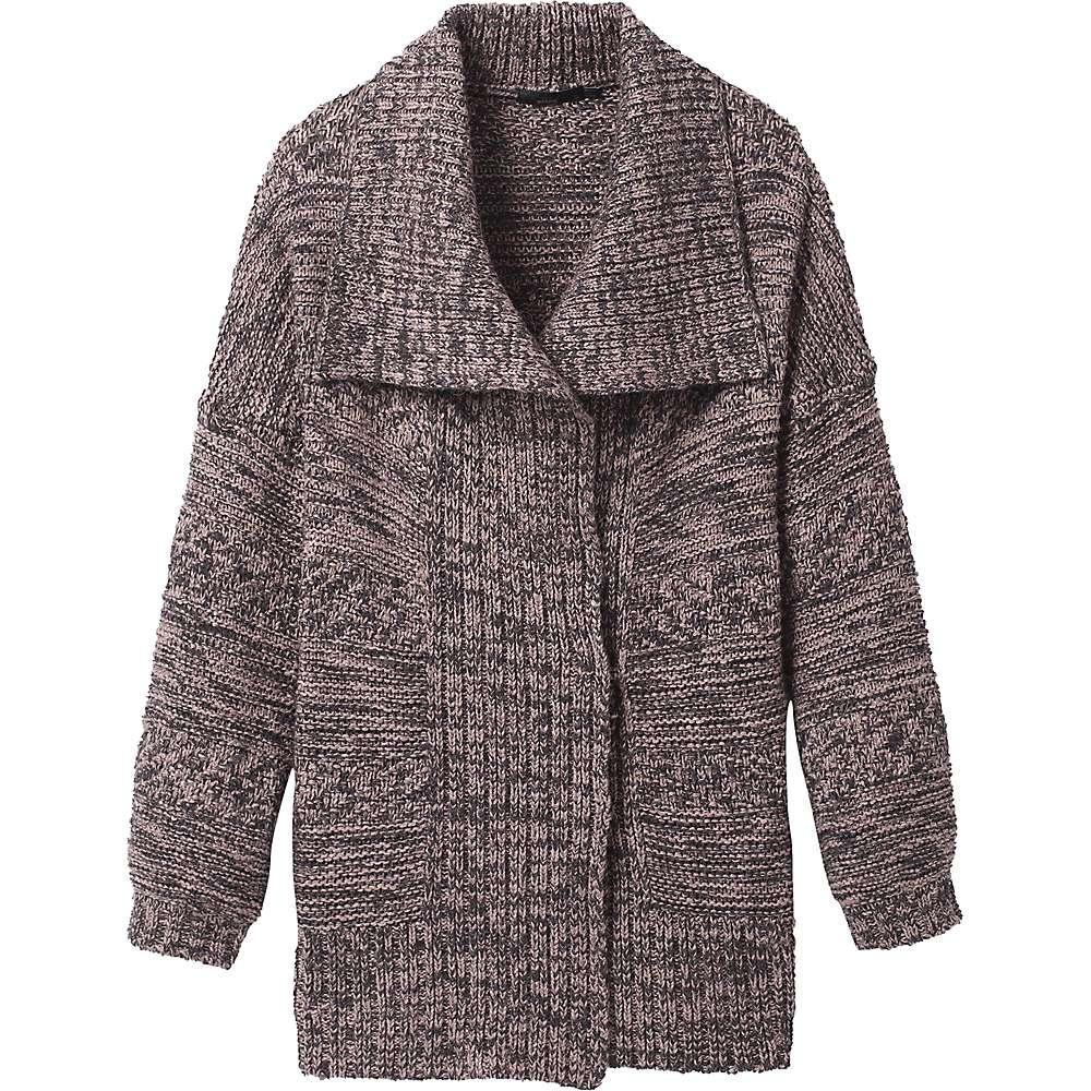 Reviews Prana Womens Sukie Sweater - Large - Magnet Grey