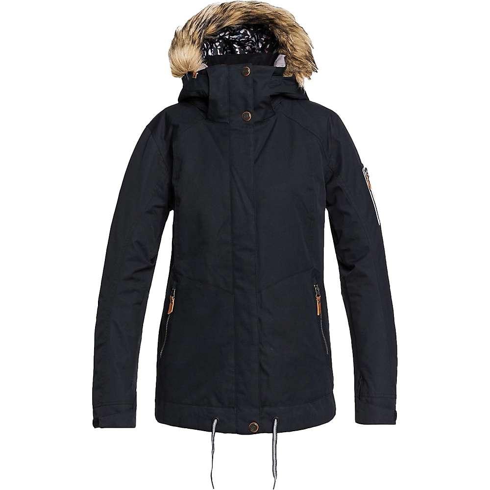 Top Roxy Womens Meade Jacket - Medium - True Black
