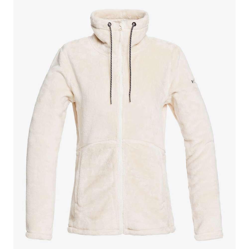 Top Roxy Womens Tundra Fleece Jacket - Small - Angora