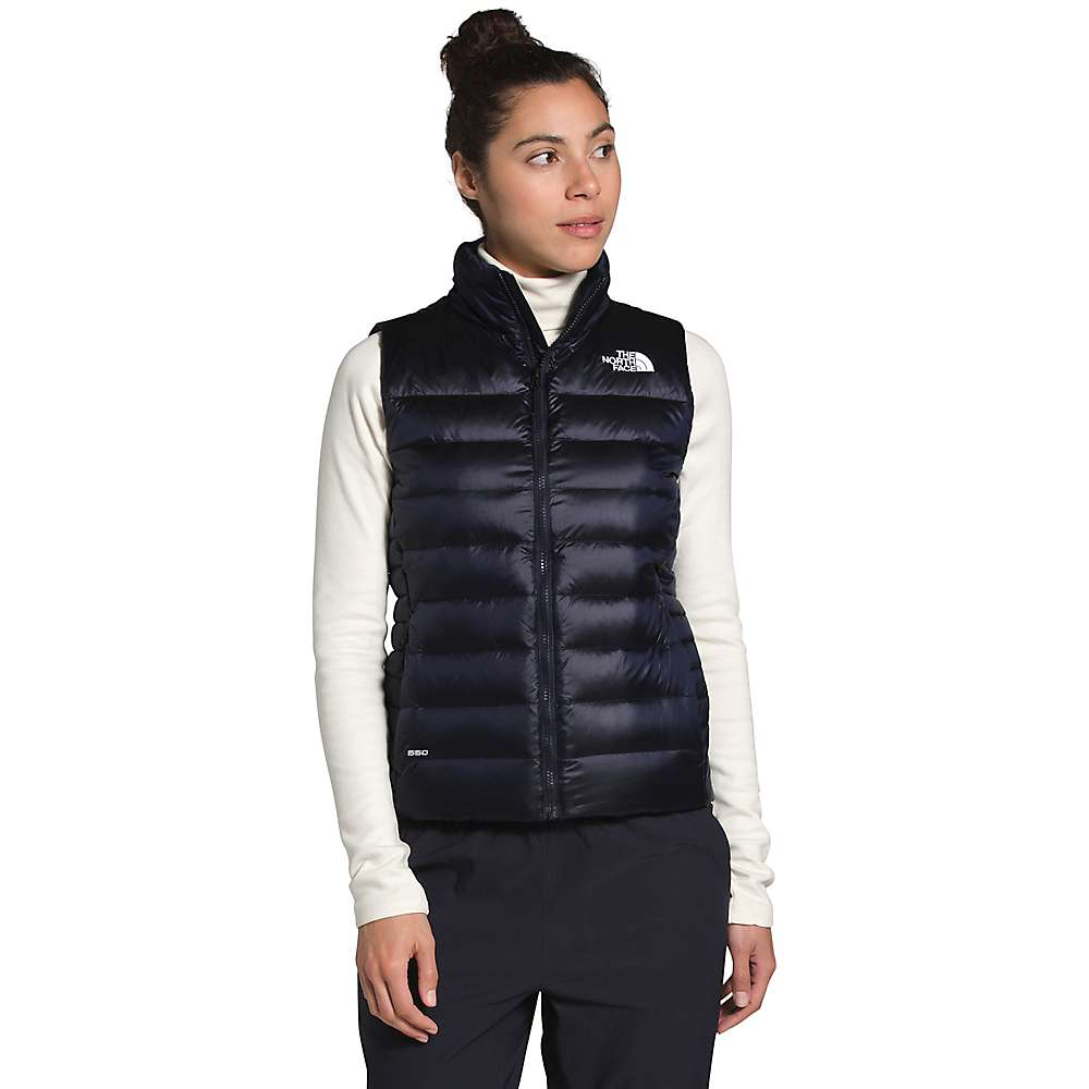 Reviews The North Face Womens Aconcagua Vest - Large - Aviator Navy
