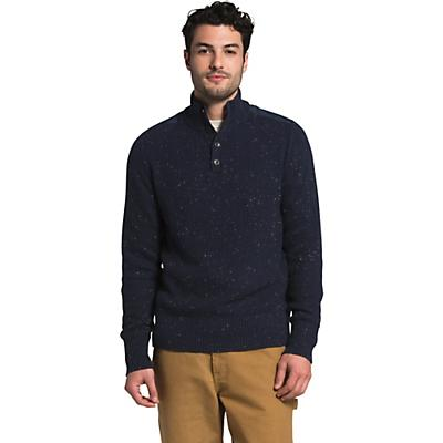 The North Face Crestview Button Sweater - Aviator Navy - Men