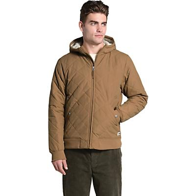 The North Face Cuchillo Insulated Full Zip Hoodie - Utility Brown - Men