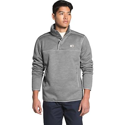 The North Face Sherpa Patrol 1/4 Snap Pullover - TNF Medium Grey Heather - Men