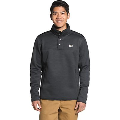 The North Face Sherpa Patrol 1/4 Snap Pullover - Asphalt Grey White Heather - Men