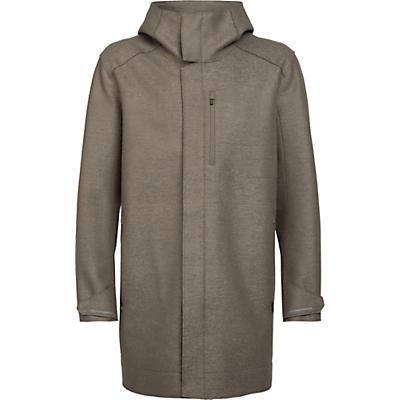Icebreaker Ainsworth Hooded Jacket - Driftwood - Men