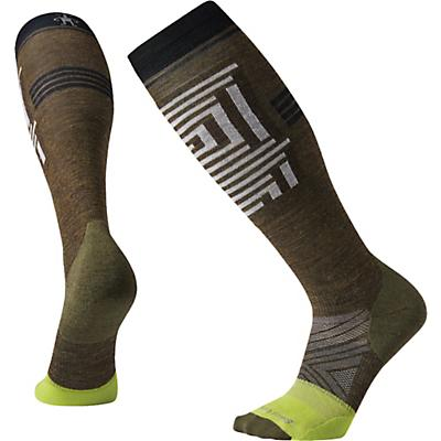 Smartwool PhD Pro Freeski Over The Calf Sock - Military Olive