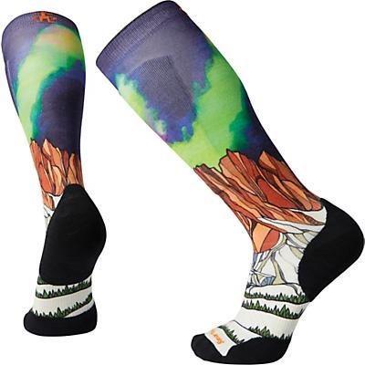 Smartwool PhD Ski Light Elite Homechetler Print Over The Calf Sock - Multi Color