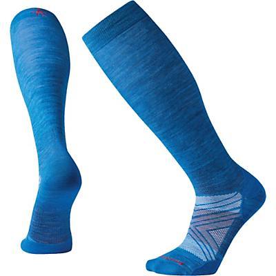 Smartwool PhD Ski Ultra Light Over The Calf Sock - Neptune Blue