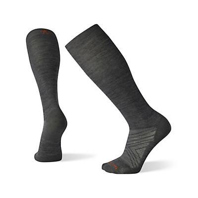 Smartwool PhD Ski Ultra Light Over The Calf Sock - Medium Grey