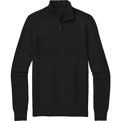 Smartwool Ripple Ridge Half Zip Sweater - Charcoal Heather - Men