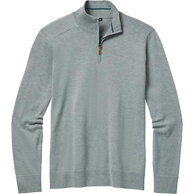 Smartwool Sparwood Half Zip Sweater - Lunar Grey Donegal - Men