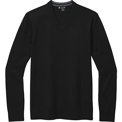 Smartwool Sparwood V-Neck Sweater - Black - Men