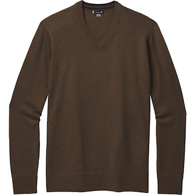 Smartwool Sparwood V-Neck Sweater - Military Olive Heather - Men