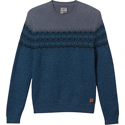 Royal Robbins Banff Novelty Sweater - Blue Teal - Men