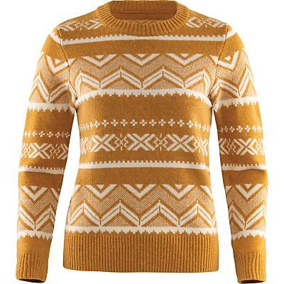 Fjallraven Greeland Re-Wool Pattern Knit Sweater - Acorn - Women
