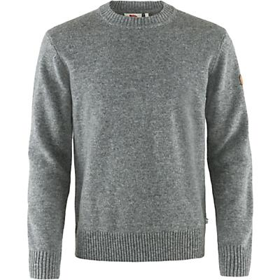 Fjallraven Ovik Round Neck Sweater - Grey - Men