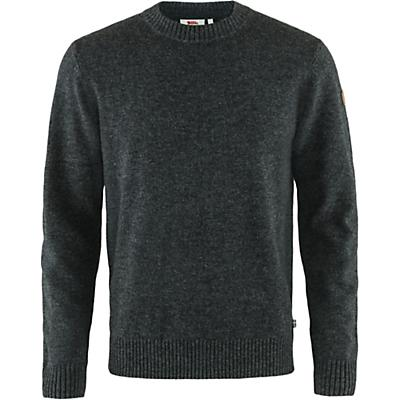 Fjallraven Ovik Round Neck Sweater - Dark Grey - Men