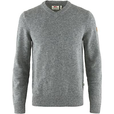 Fjallraven Ovik V Neck Sweater - Grey - Men