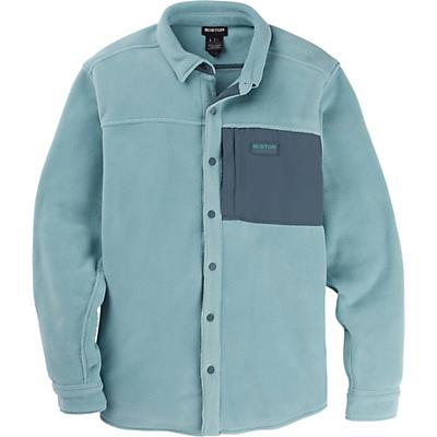 Burton Hearth Fleece Shirt - Trellis - Men
