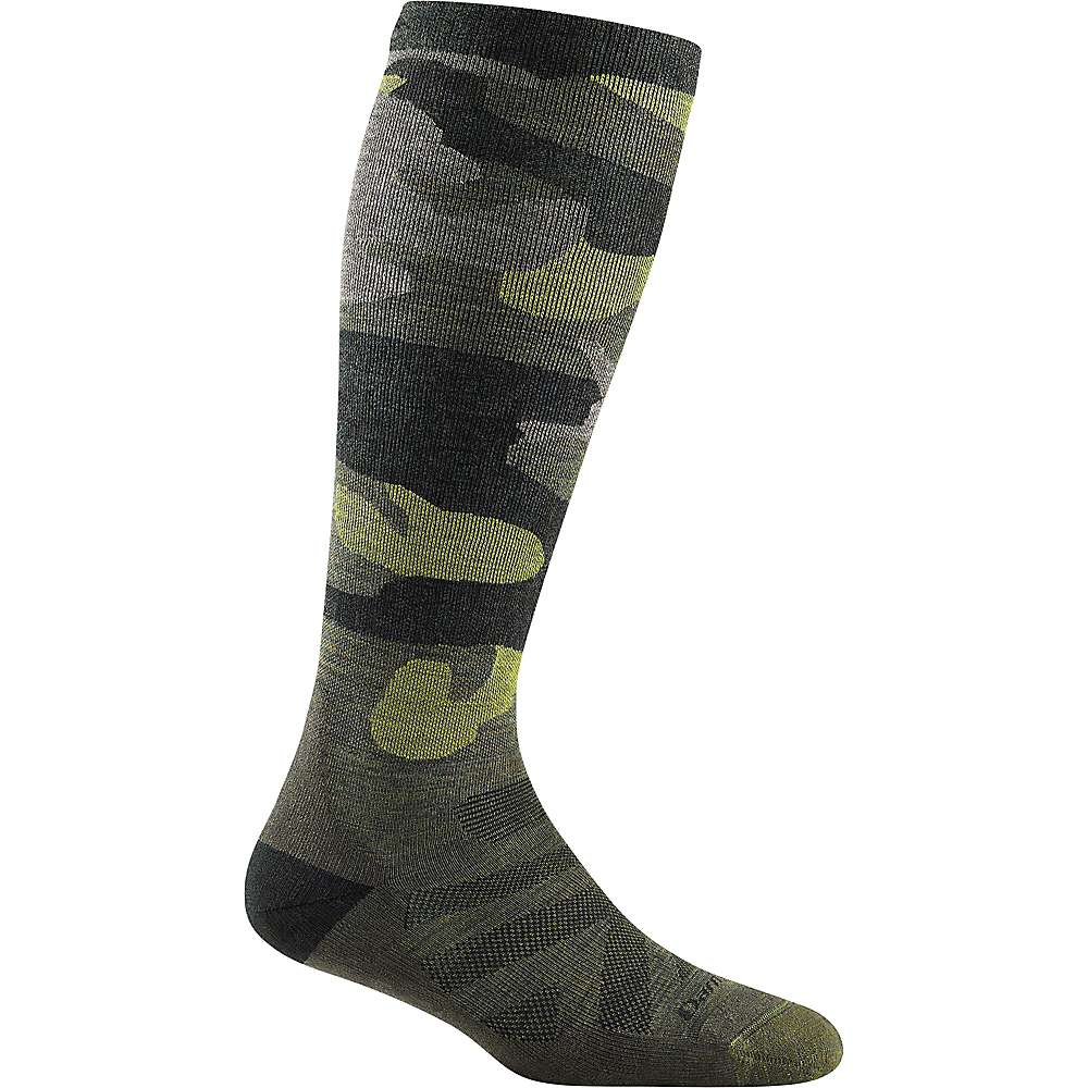 Darn Tough Women's Camo OTC Cushioned Compression Sock - Large - Forest