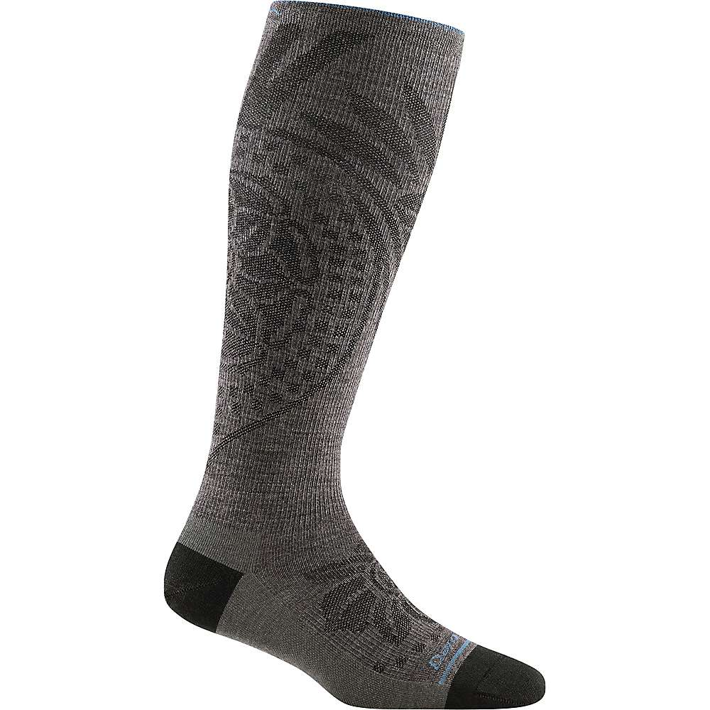 Darn Tough Women's Chakra Lightweight Knee High Compression Sock - Large - Taupe