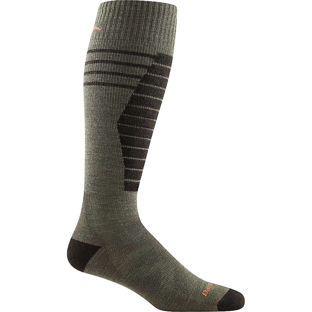 Darn Tough Men's Edge Midweight Padded Cushion Sock - XL - Cedar