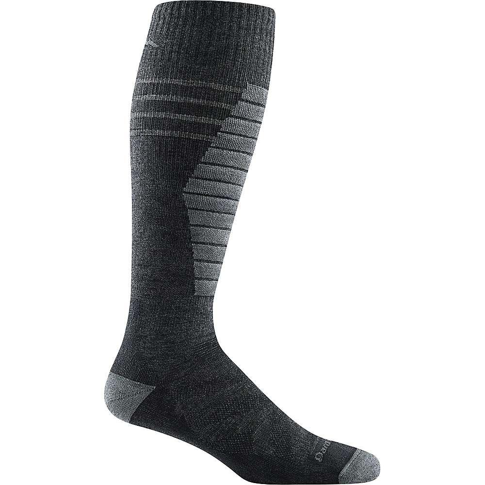 Darn Tough Men's Edge Midweight Padded Cushion Sock - Large - Charcoal