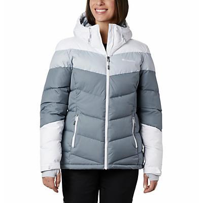 Columbia Abbott Peak Insulated Jacket - Grey Ash / White / Cirrus Grey - Women