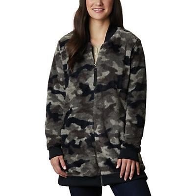 Columbia Bundle Up Printed Fleece Jacket - Black Camo - Women