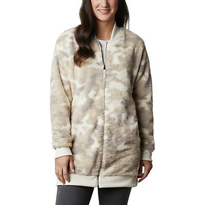 Columbia Bundle Up Printed Fleece Jacket - Chalk Camo - Women