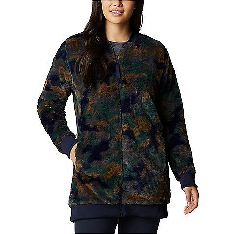 Columbia Women's Bundle Up Printed Fleece Jacket Dark Nocturnal Camo