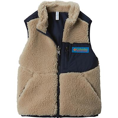 Columbia Youth Archer Ridge Reversible Vest - Ancient Fossil / Collegiate Navy