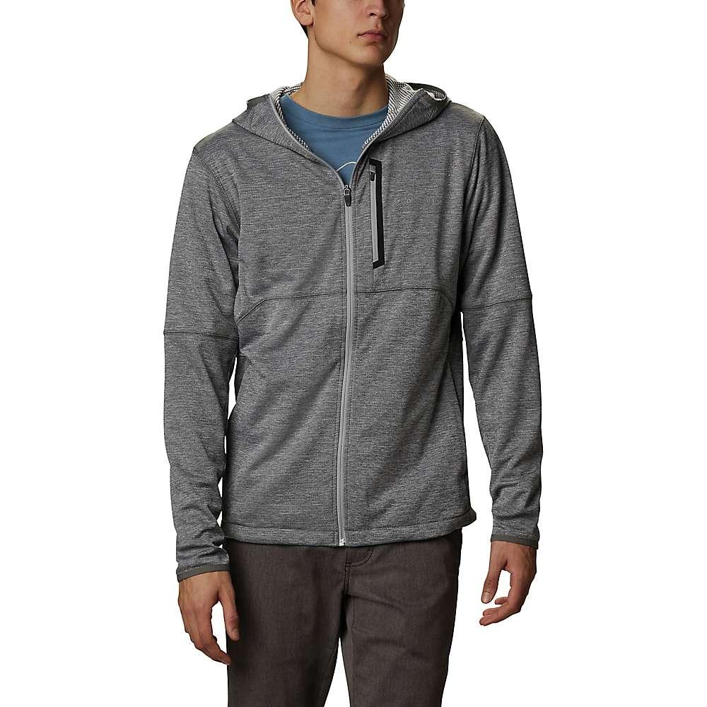 Cheap Columbia Mens Tech Trail Full Zip Hoodie - XL - City Grey Heather