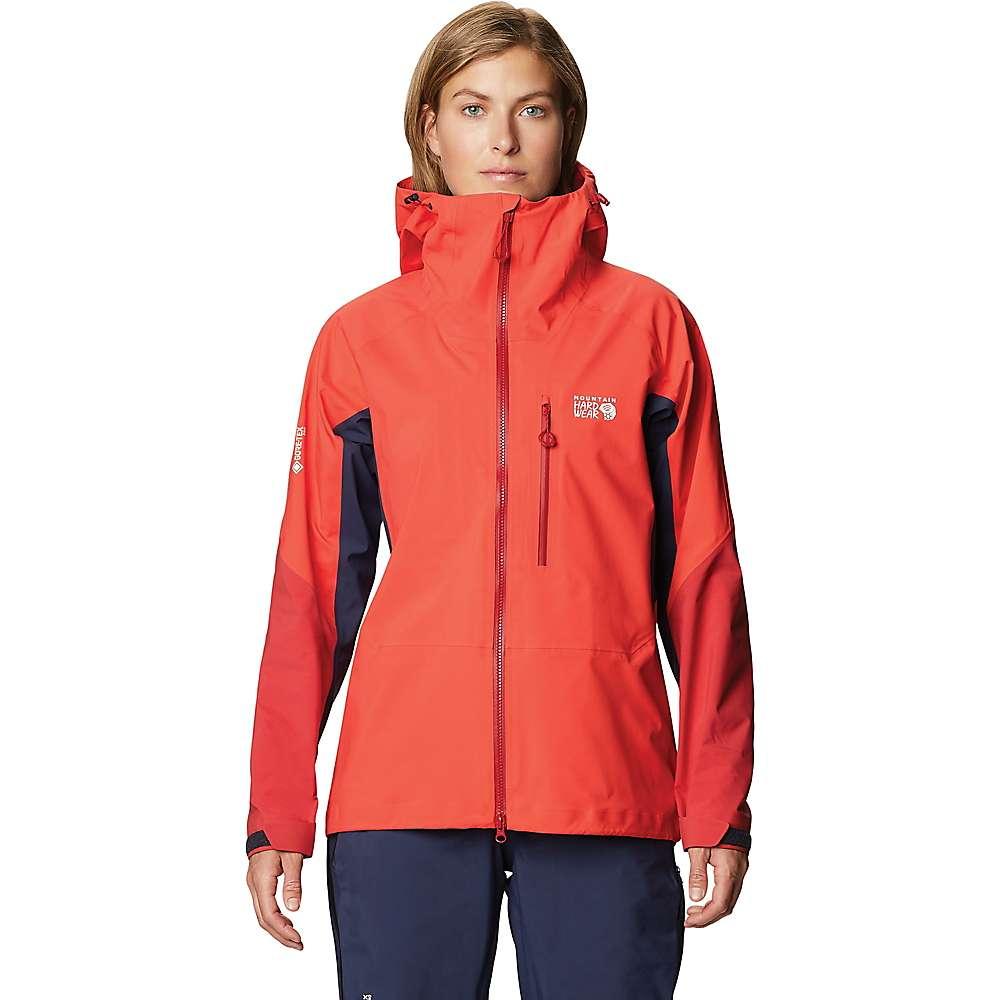 Top Mountain Hardwear Womens GTX Pro LT Jacket - XS - Fiery Red