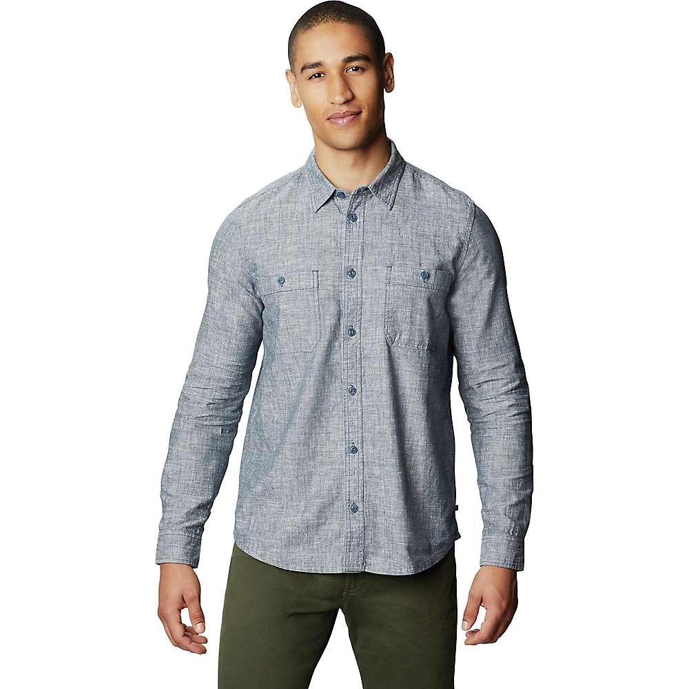 Cheap Mountain Hardwear Mens Piney Creek LS Shirt - XXL - Zinc