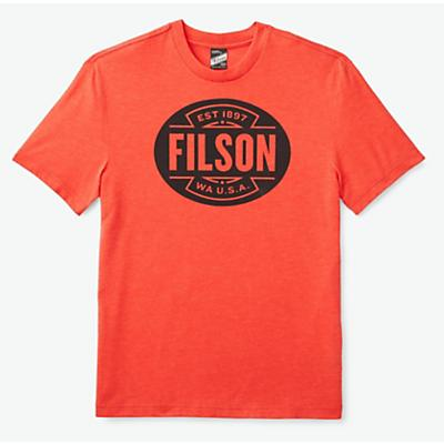 Filson Buckshot T-Shirt - Cardinal Red - Men