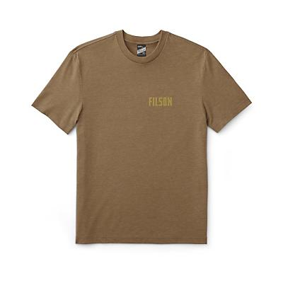 Filson Buckshot T-Shirt - Olive Drab / Heather - Men