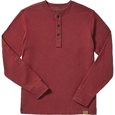 Filson Double Layer Henley - Dark Red - Men