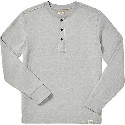 Filson Double Layer Henley - Heather Grey - Men