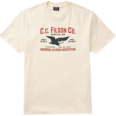 Filson Lightweight Outfitter Graphic SS T-Shirt - Birch - Men