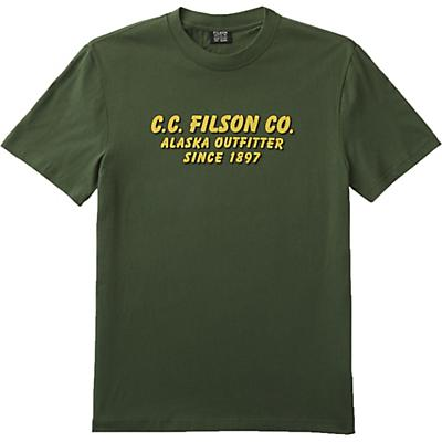 Filson Lightweight Outfitter Graphic SS T-Shirt - Dark Vine - Men