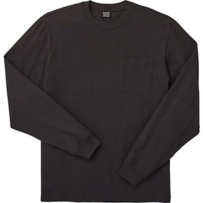 Filson Outfitter Solid One-Pocket LS T-Shirt - Faded Black - Men