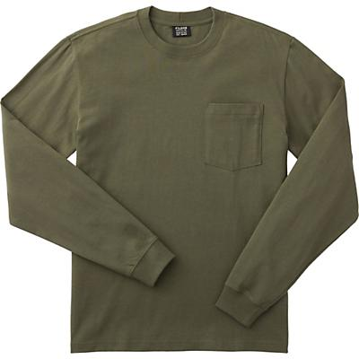 Filson Outfitter Solid One-Pocket LS T-Shirt - Otter Green - Men
