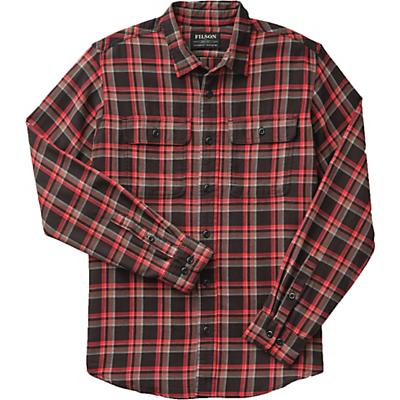 Filson Washed Scout Shirt - Black / Red / Brown Plaid - Men