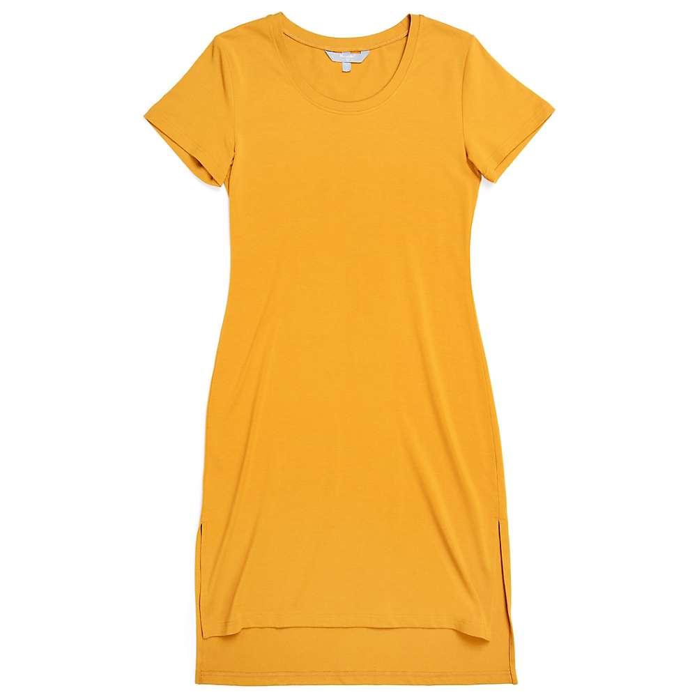 Reviews Moosejaw Womens Lakeside T-Dress - Large - Heather Ochre