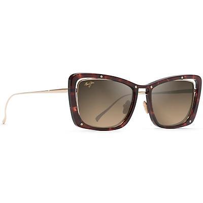 Maui Jim Adrift Polarized Sunglasses - Tortoise / Shiny Gold / HCL Bronze