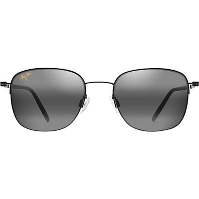 Maui Jim Crater Rim Polarized Sunglasses - Black Matte / Neutral Grey